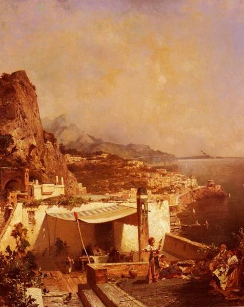 Amalfi Golfe De Salerne